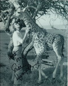 Susan Hampshire - Genuine Signed Autograph 10305